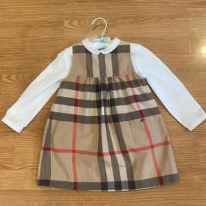 Burberry Children's Toddler Dress and Button Down